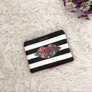 🎁 FREE W/40$+✨NWOT 💕 Sephora Small Bag 💕